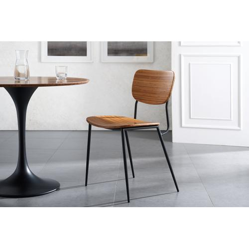 "Greenington Fine Bamboo Furniture - Soho 36"" Round Table, Amber"