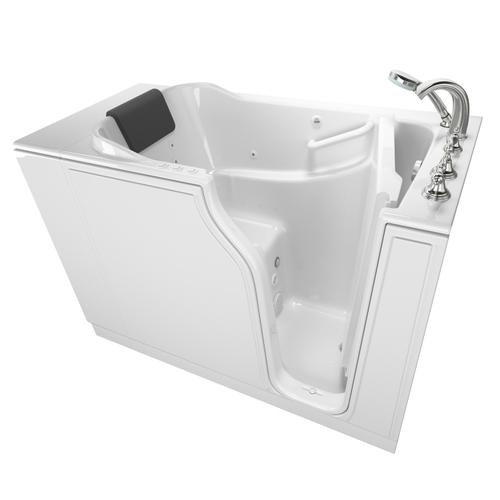 30x52-inch Walk-In Tub with Combo Air Spa and Whirlpool Systems  American Standard - White