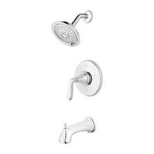 Polished Chrome 1-Handle Tub & Shower Trim