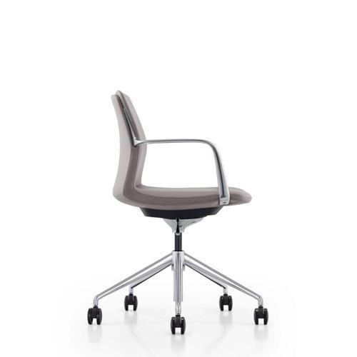 VIG Furniture - Modrest Sundar - Modern Black Mid Back Conference Office Chair