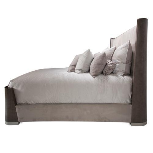 Amini - Queen Dual-panel Bed (4 Pc)