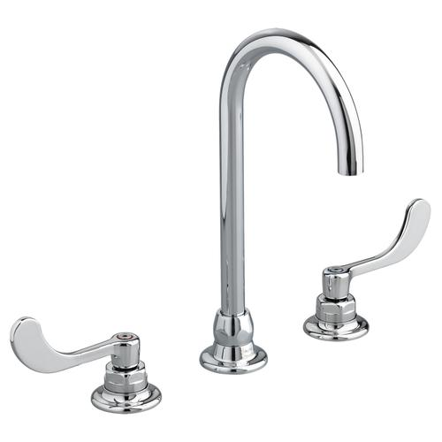 American Standard - Monterrey 8-inch Widespread Gooseneck Faucet - 1.5 GPM - Polished Chrome