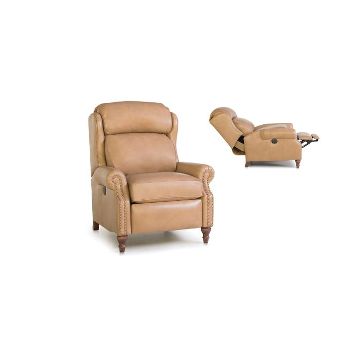 Smith Brothers Furniture - Leather Motorized Reclining Chair
