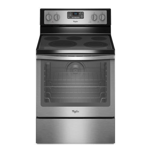 Gallery - 6.4 Cu. Ft. Freestanding Electric Range with AquaLift® Self-Cleaning Technology