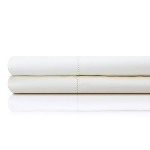 Italian Artisan Sheet Set King Pillowcase White