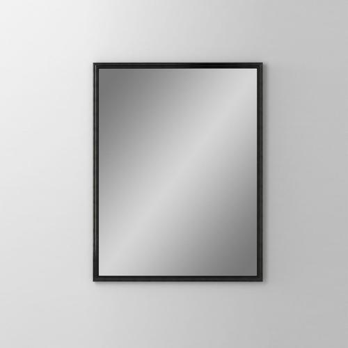 "Main Line 23-1/8"" X 29-7/8"" X 1-5/8"" Rosemont Framed Mirror In Brushed Black"