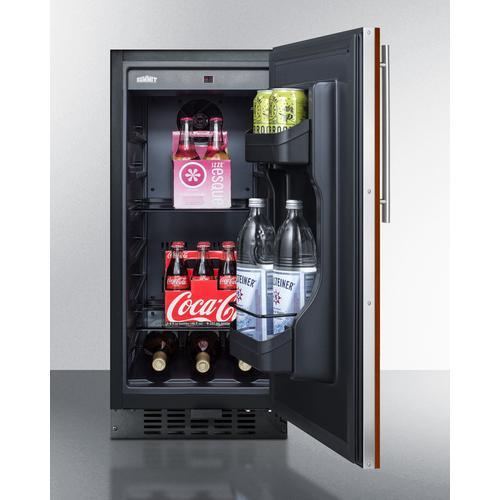 "Summit - 15"" Wide Built-in All-refrigerator, ADA Compliant"