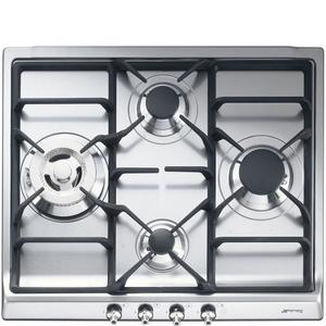 SmegCooktop Stainless steel SR60GHU3