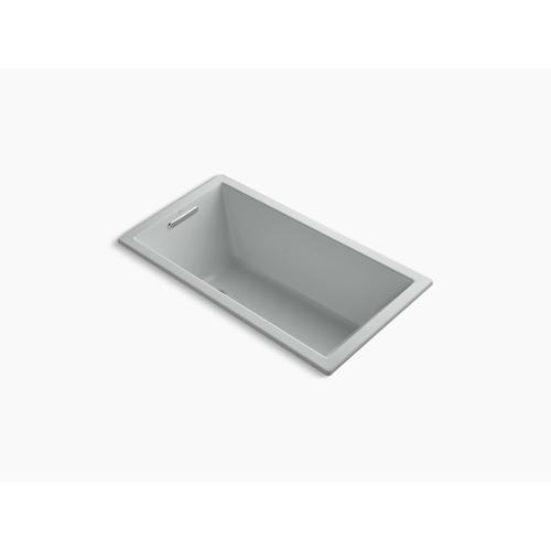 "Ice Grey 60"" X 32"" Drop-in Vibracoustic Bath With Bask Heated Surface"