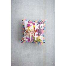 See Details - Lake life Kantha Pillow