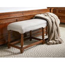Old Town Bed End Bench - Barrister