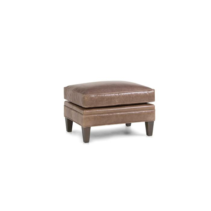 Smith Brothers Furniture - Leather Ottoman