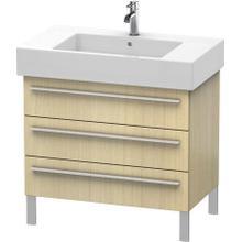 Product Image - Vanity Unit Floorstanding, Mediterranean Oak (real Wood Veneer)