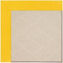 "Creative Concepts-White Wicker Canvas Sunflower Yellow - Rectangle - 24"" x 36"""