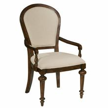 942704CP Charleston Place - Oval Back Arm Chair