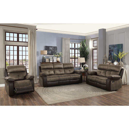 Homelegance - Double Reclining Love Seat