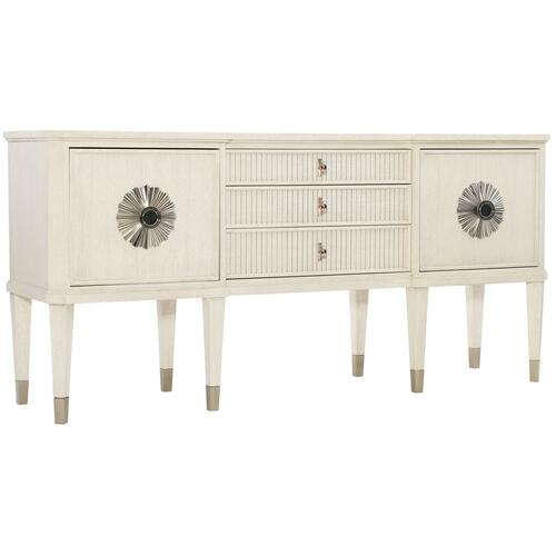 Allure Sideboard in Manor White (399), Silver Mist (399)