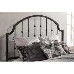 Westgate Queen Headboard With Frame - Rustic Black