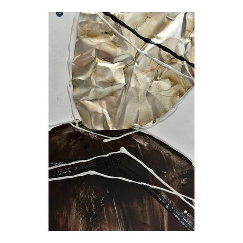 Gold Stone Abstract I