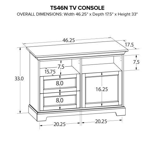TS46N Custom TV Console