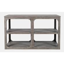 View Product - Westfield Sofa Table - Weathered Grey