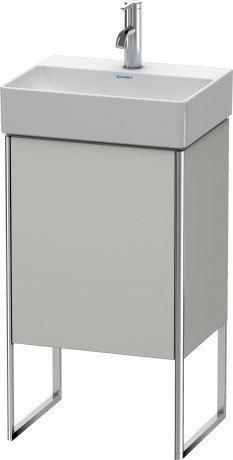 Vanity Unit Floorstanding, Concrete Gray Matte (decor)