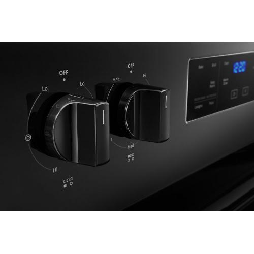 Whirlpool - 5.3 cu. ft. Whirlpool® electric range with Frozen Bake™ technology