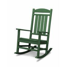 View Product - Presidential Rocking Chair in Green