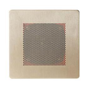 Self Powered Bluetooth Speakers in Polished Nickel