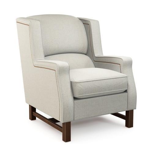 La-Z-Boy - Cosmopolitan Chair w/ Platinum Nail Head Trim