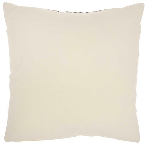"Life Styles Sh036 Black Ivory 20"" X 20"" Throw Pillow"