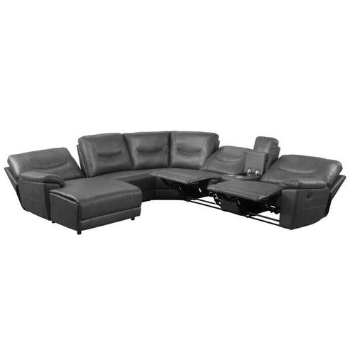 Gallery - 6-Piece Modular Reclining Sectional with Left Chaise