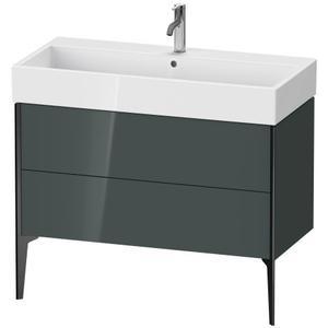 Duravit - Vanity Unit Floorstanding, Dolomiti Gray High Gloss (lacquer)