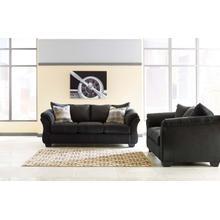 Darcy Sofa & Loveseat Black