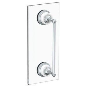 """Venetian 18"""" Shower Door Pull/ Glass Mount Towel Bar"""