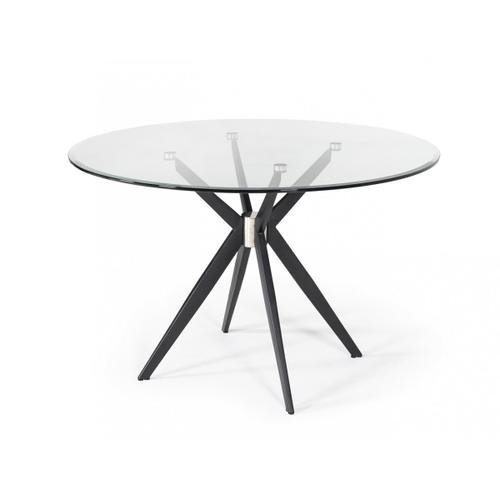 VIG Furniture - Modrest Dallas - Modern Black Dining Table