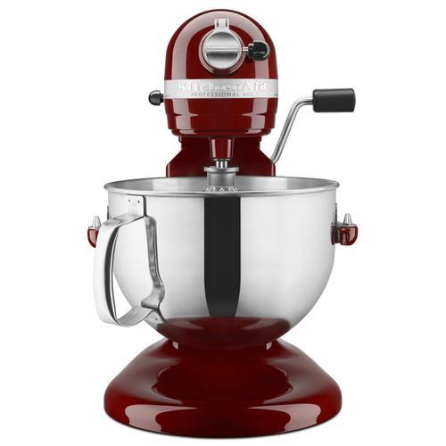KitchenAid - Professional 600™ Series 6 Quart Bowl-Lift Stand Mixer Gloss Cinnamon