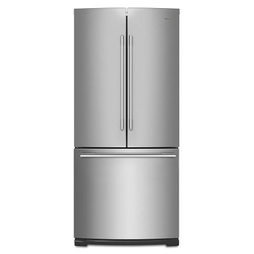 Product Image - 30-inch Wide Contemporary Handle French Door Refrigerator - 20 cu. ft.