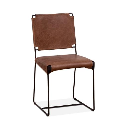 New York Dining Chair Tobacco leather