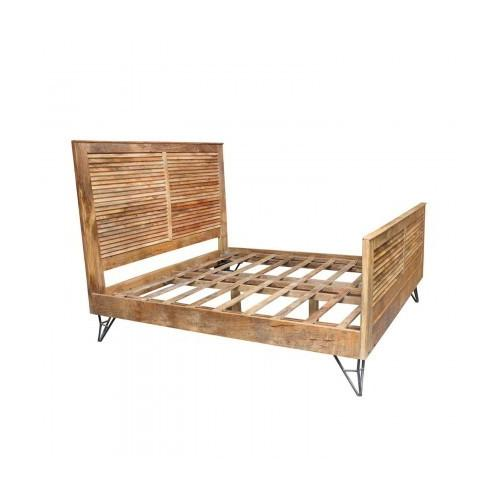 Shutter King Size Bed