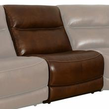 See Details - COLOSSUS - NAPOLI BROWN Armless Chair