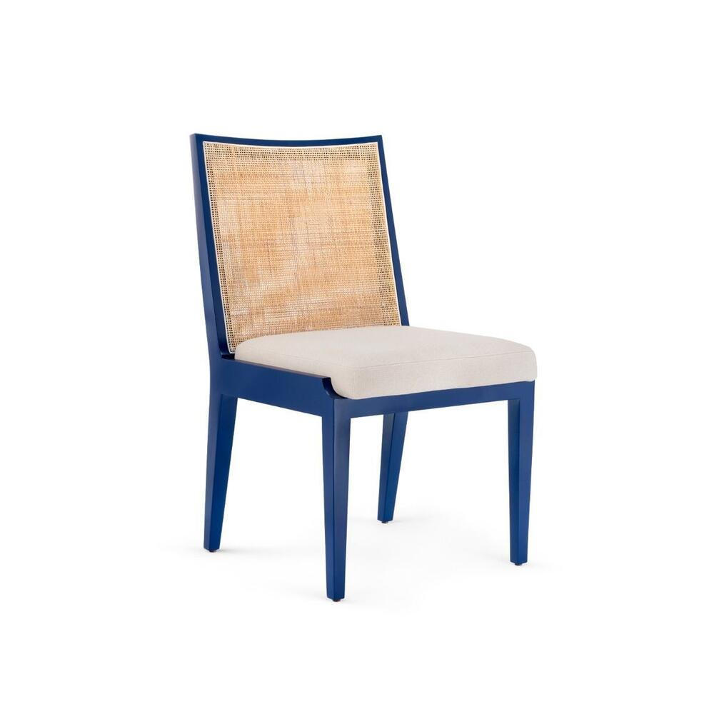 Ernest Side Chair, Navy Blue