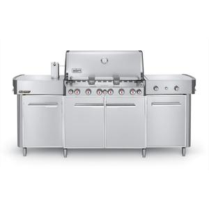 WeberSUMMIT® GRILL CENTER NATURAL GAS - STAINLESS STEEL