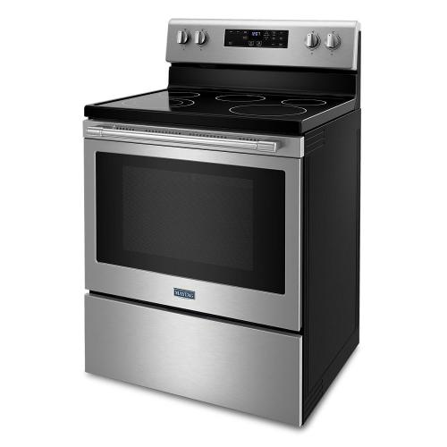 Maytag - Electric Range with Steam Clean - 5.3 cu. ft.