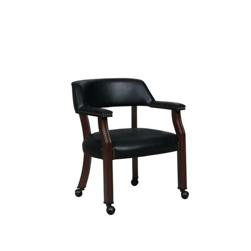 CLEARANCE Modern Black Guest Chair