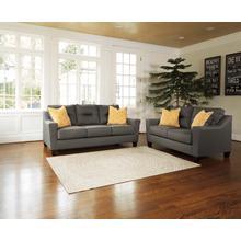 Forsan Nuvella® Sofa & Loveseat Gray