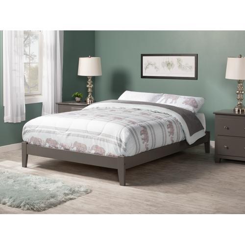 Concord Full Bed in Atlantic Grey