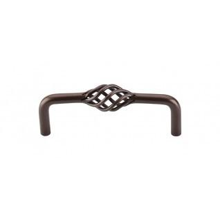Top Knobs - Twisted Wire D Pull 3 3/4 Inch (c-c) - Oil Rubbed Bronze