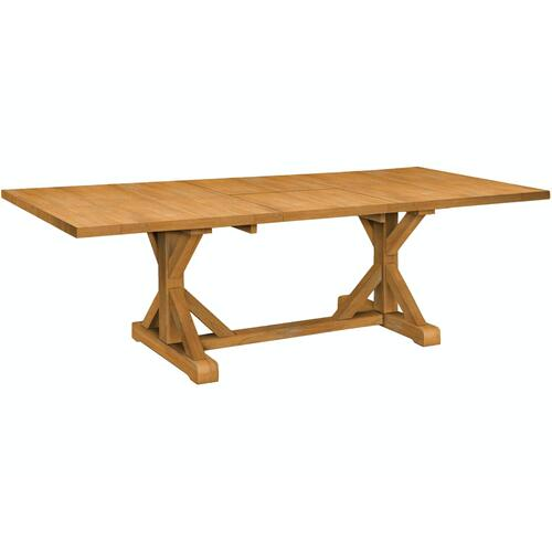 John Thomas Furniture - Sierra Trestle Table Top & Base