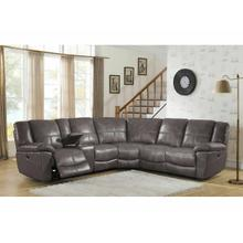 See Details - Power Reclining Sectional in Montgomery-Gray